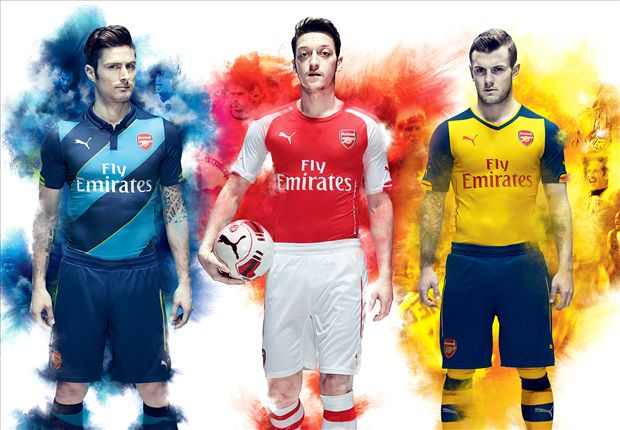 Revealed: Arsenal launch new PUMA kit