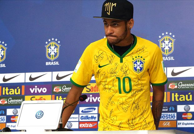 Neymar: Brazil not at the level of Germany or Spain