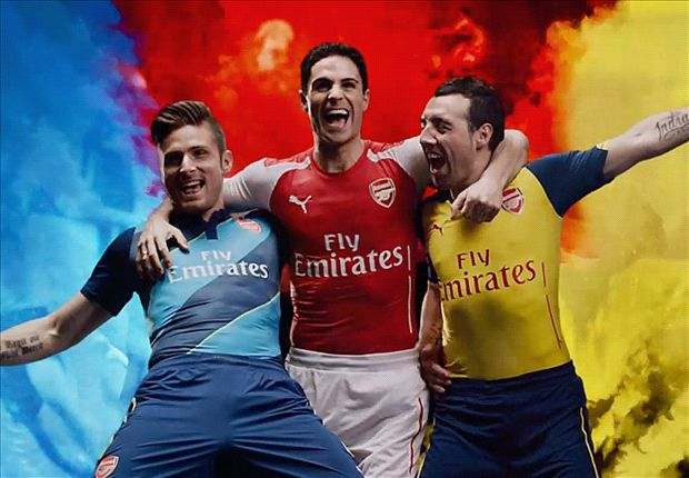 Wenger walks on water as Cazorla et al fool fans - inside Arsenal's spectacular Puma kit launch