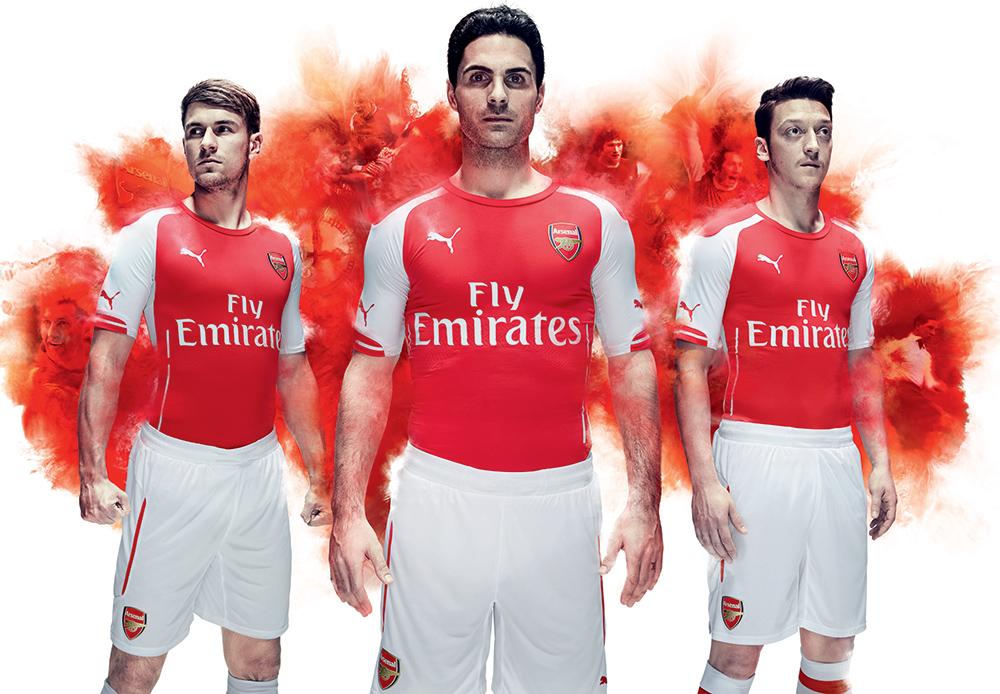 Arsenal launch new PUMA kit