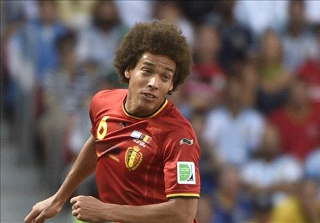 I've always liked Man Utd - Witsel