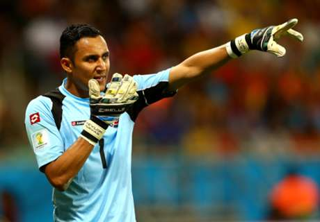 'Navas can handle Madrid pressure'