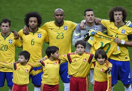 'You could see the fear on Brazil's faces'