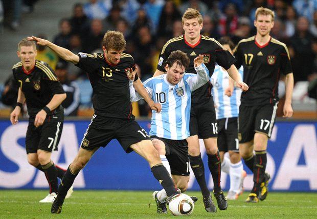 Varios jugadores de ambos planteles también estuvieron en Sudáfrica 2010.