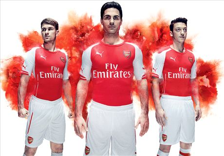 VIDEO: Arsenal's spectacular kit launch