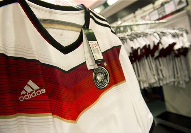 La camiseta alemana.