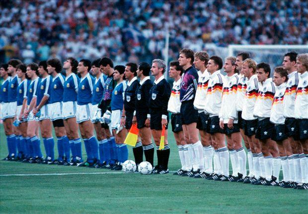En Italia 1990 la suerte estuvo del lado alemán, que consiguió su tercer y último título.