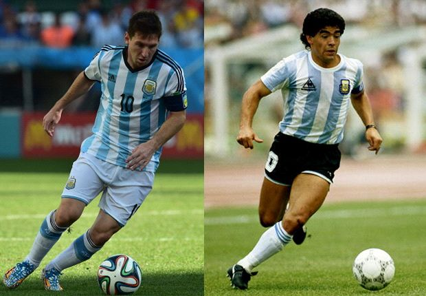 Messi's chance to join Maradona among the world's greats