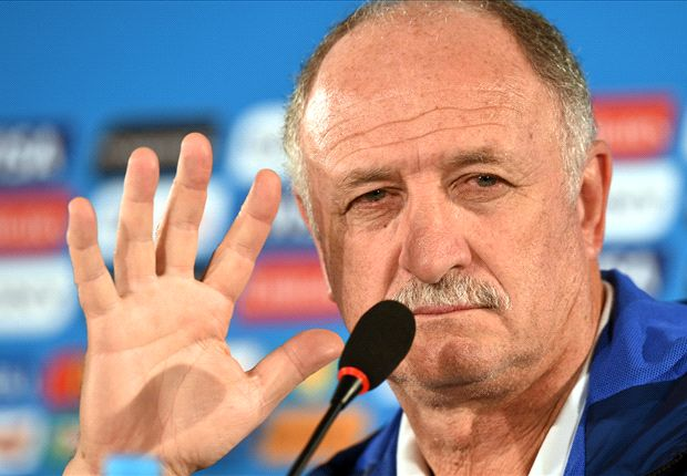 Scolari: Brazil bosses can decide my future
