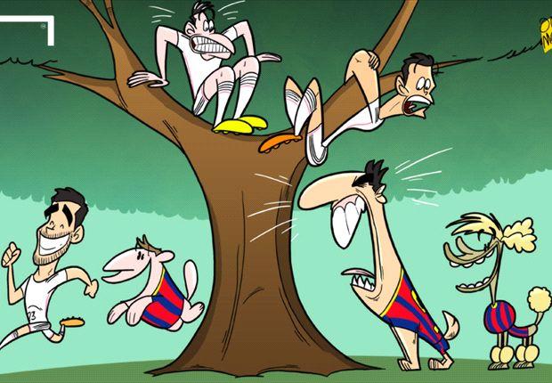 Luis Suárez ya asusta a los rivales de Barcelona