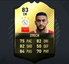 Ziyech in FIFA 17 Ultimate Team of the Week