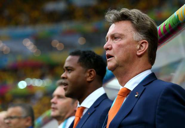 Louis van Gaal Brazil Netherlands 2014 World Cup third-place playoffBrazil Netherlands 2014 World Cup third-place playoff