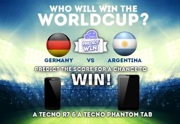 Who will win the 2014 World Cup final?