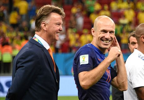 Robben: Van Gaal wants me at Man Utd