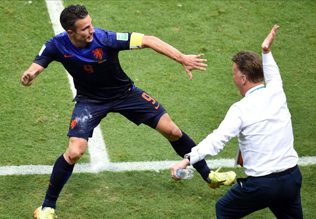 Van Gaal and Van Persie: Manchester United's match made in heaven