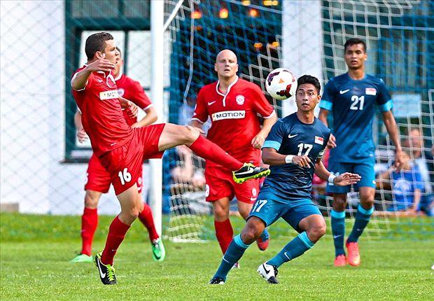 Match Report: Singapore 2-2 FC Brno