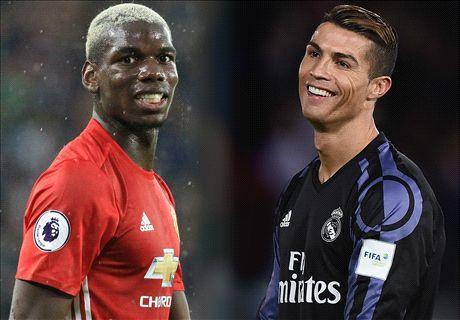 Football Money League: United Geser Madrid