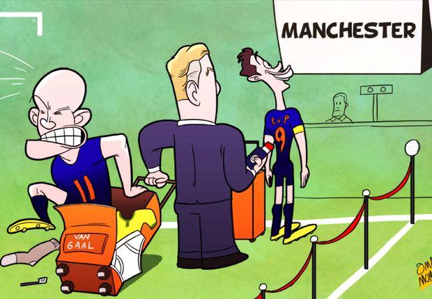 Louis van Gaal ya piensa en el Manchester United