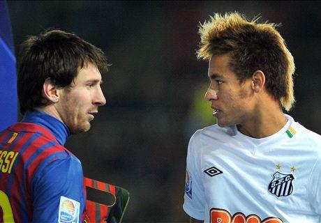 Neymar's 2011 Club World Cup final