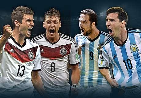 Alemania - Argentina: Sigue en vivo la final del Mundial 2014 en Goal