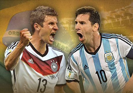 LIVE: Germany - Argentina
