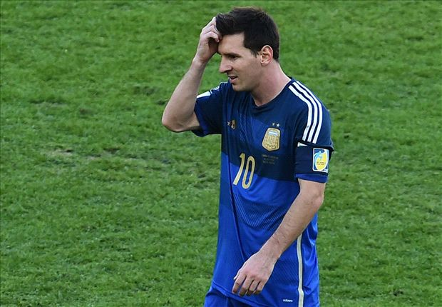 Messi misses chance to match Maradona