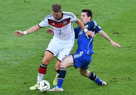 LIVE: Germany 0-0 Argentina