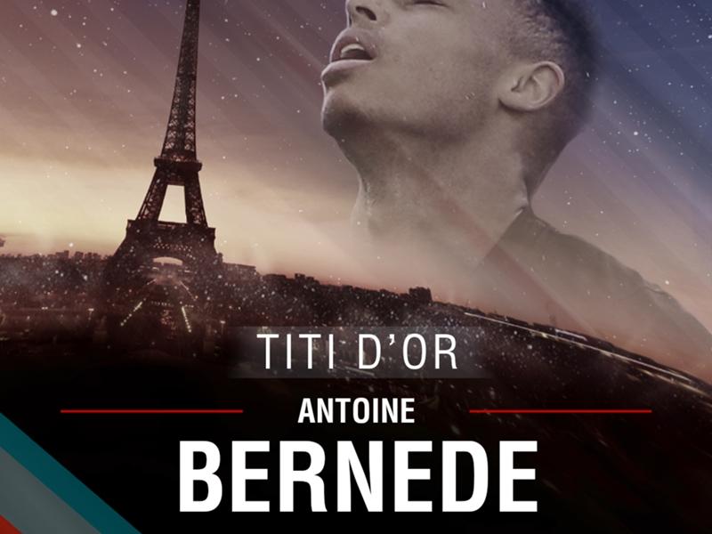 Titi d'Or - Antoine Bernede est 2e : programmé pour être le prochain