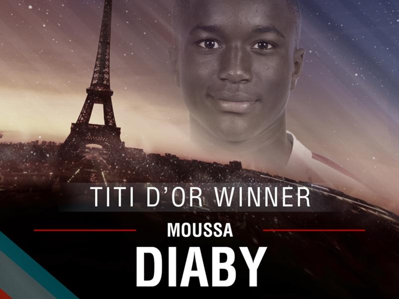 """Titi d'Or - Moussa Diaby, le vainqueur 2016 : """"Aller décrocher un contrat professionnel"""""""