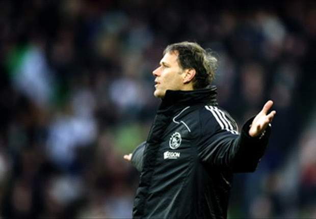 Ajax Coach Van Basten Proud Despite Marseille Defeat