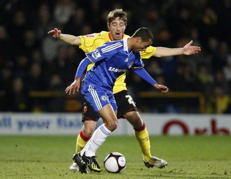 FA Cup: Tommy Smith - Ashley Cole, Watford - Chelsea (PA)