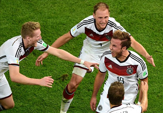 Alemania venció a Argentina 1 a 0 y es campeón del mundo