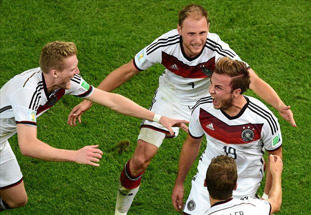 Alemania 1-0 Argentina: Mario Götze le da su cuarta corona a Die Mannschaft