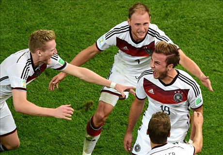 Gotze strike seals World Cup glory