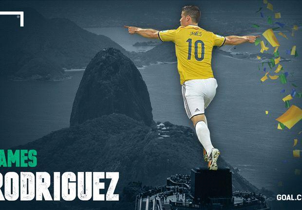 James Rodríguez fue el Botín de Oro