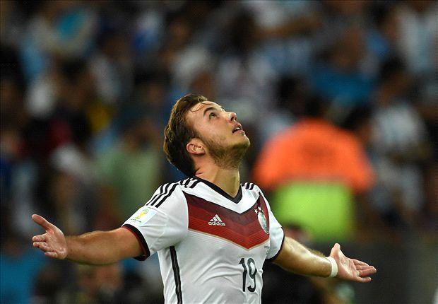 Mario Götze marcó el gol que le dio a Alemania su cuarta Copa del Mundo.