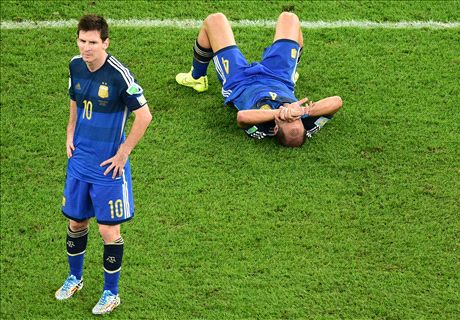 Messi blames World Cup loss on strikers