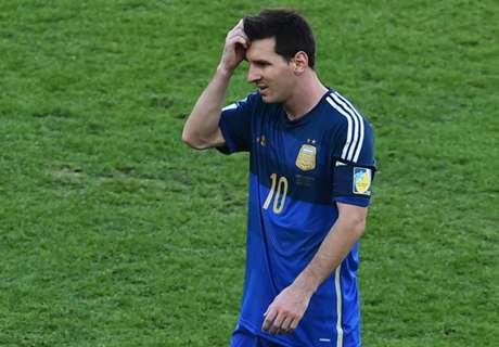 Messi ainda lamenta derrota na Copa