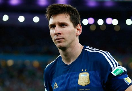 Messi to miss Germany rematch