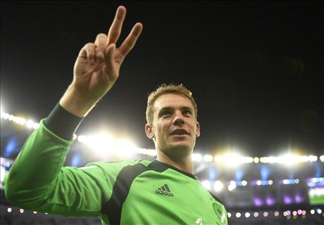 Neuer voted best keeper of 13-14
