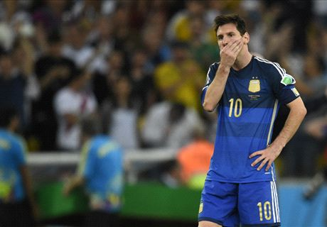 Messi fails to match Maradona