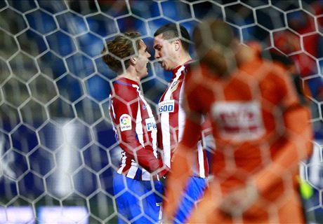 Griezmann shines for Atleti