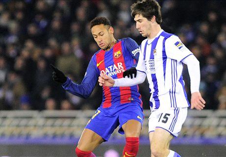 AO VIVO: R. Sociedad 0 x 1 Barcelona