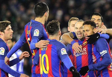 LIVE: Real Sociedad vs Barcelona