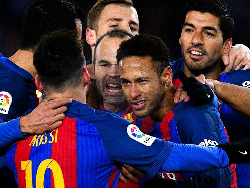 LIVE: Eibar vs Barcelona