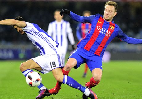 FT: Real Sociedad 0-1 Barcelona