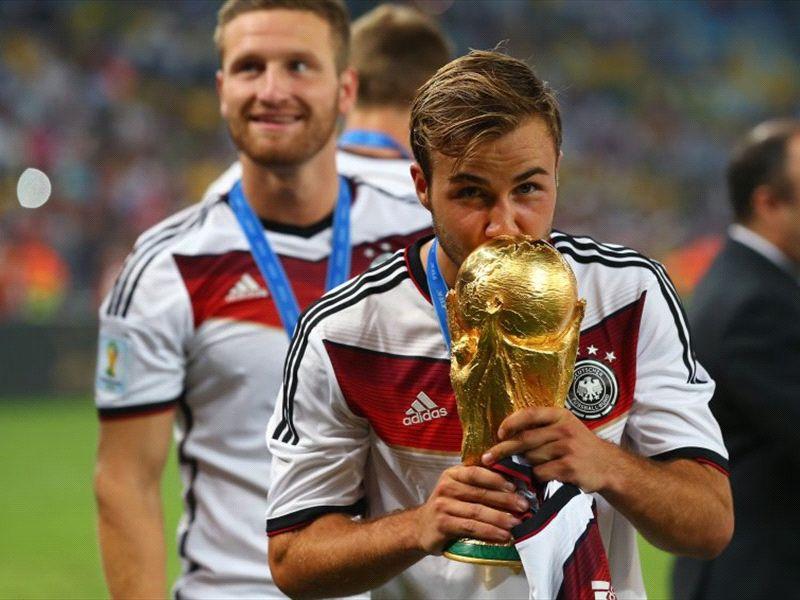 """Mario Götze comemora gol na final: """"É uma sensação indescritível"""""""