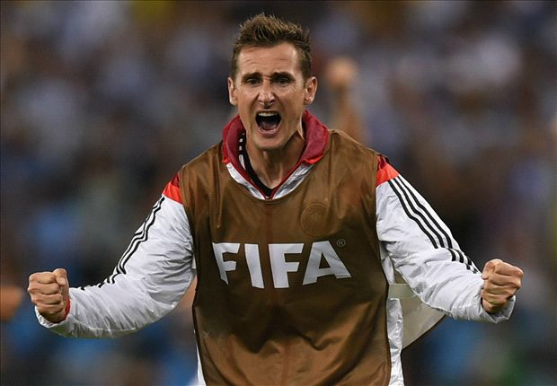 Germany striker Klose retires from international football