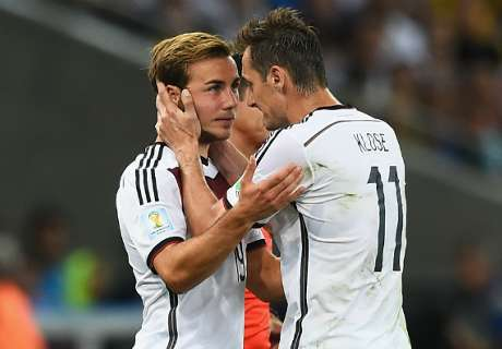 Klose: I told Gotze to make it happen