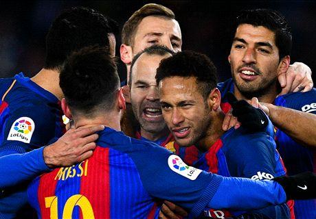 Neymar gives Barca Copa advantage